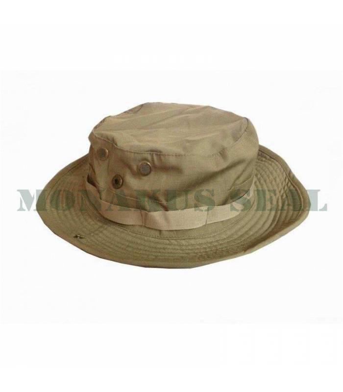 PVC patch USA Tan