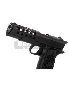 25-30MM SCOPE MOUNT FOR AR-15/M4/M16 - BLACK [CASTELLAN]