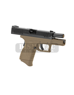 25-30MM SCOPE MOUNT FOR AR-15/M4/M16 - BLACK [CASTELLAN]