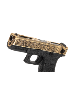 3D PVC Viking Patch with Ax