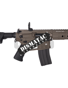 Subfusil Sig Sauer MPX ASP FDE + Red Dot Co2 - 4,5 Balines